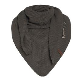 Knit Coco omslagdoek Grey