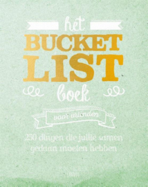 Het Bucketlist boek voor vrienden