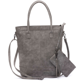 Zebra Natural bag Kartel Grey