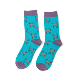 Miss Sparrow Greyhounds Turquoise (One Size)
