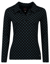 Tante Betsy Shirt Nellie Hearts Black
