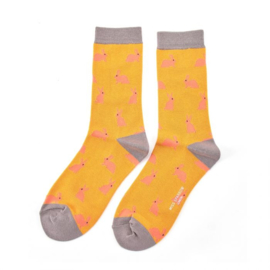 Miss Sparrow Rabbits Mustard (One Size)