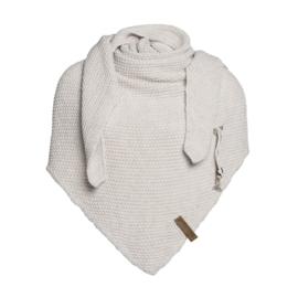Knit Coco omslagdoek Beige