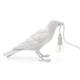 Seletti Bird Lamp waiting wit