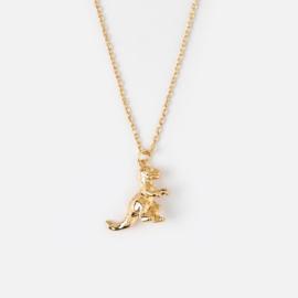 Orelia gouden ketting Dino
