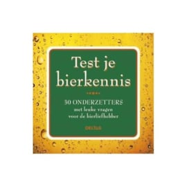 Test je Bierkennis (onderzetters)
