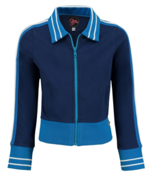 Tante Betsy  Sporty Jacket Girl Solid Blue