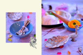 Doing Goods feather tea spoon