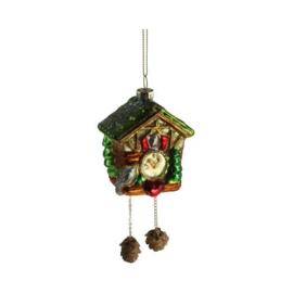 Kerstbal Cuckoo Clock