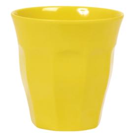 Melamine beker Rice geel