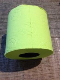 Gekleurd wc-papier groen