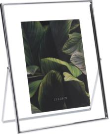 Zilver fotolijstje staand 20 x 25cm
