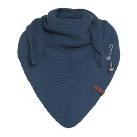 Knit Coco omslagdoek Petrol