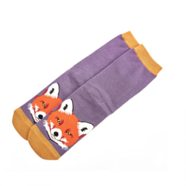 Miss Sparrow Fox Face Purple (One Size)