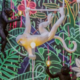 Seletti Monkey lamp swing