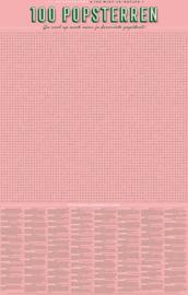 Stratier XL Spelposter 100 Popsterren Woordzoeker
