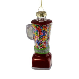 Kerstbal candy machine