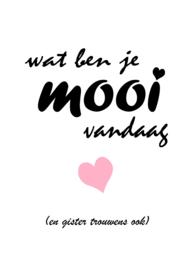 Poster A4 Mooi