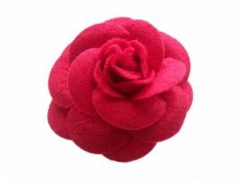 Vilten roos rood