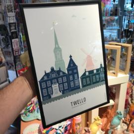 Poster Twello kleur (a4)