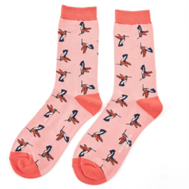 Miss Sparrow Hummingbirds Pink (One Size)