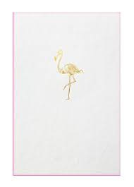 Papette flamingo XXL card