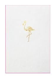 Papette flamingo card