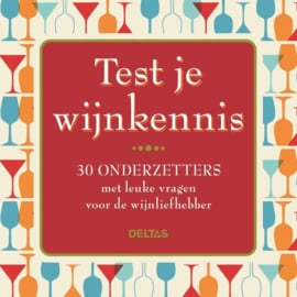 Test je Wijnkennis (onderzetters)