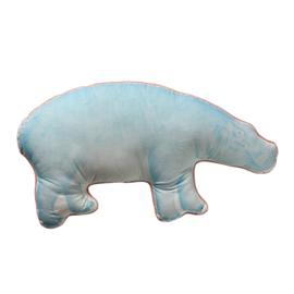 Kussen hippo