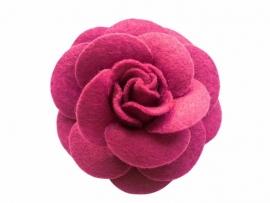 Vilten roos roze