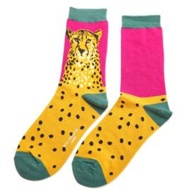 Miss Sparrow Wild Cheetah Pink (One Size)