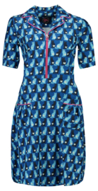 Tante Betsy Dress Amy Lou Catty Blue