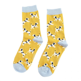 Miss Sparrow Little Dalmatians Yellow (One Size)