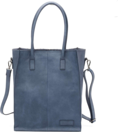 Zebra Natural bag Rosa Blue