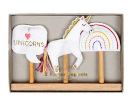 Unicorn vingerpoppetjes