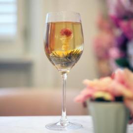 Flora tea Crystal glass