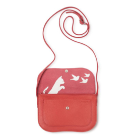 Keecie Bag Cat chase, Coral