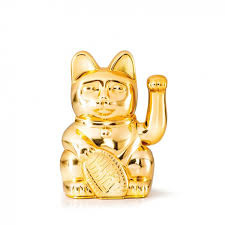 Donkey Lucky Cat Gold Limited Edition