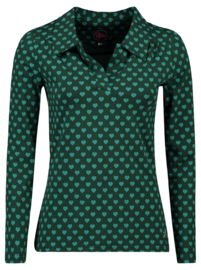 Tante Betsy Shirt Nellie Hearts Green