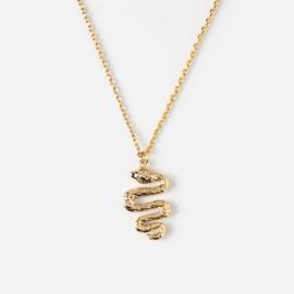 Orelia gouden ketting met slang