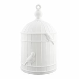 Vogelkooi lamp porselein