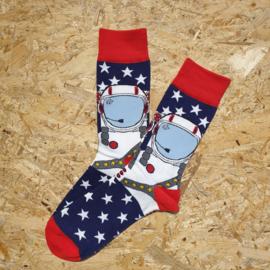 NO MORE BORING SOCKS - Astronaut blue