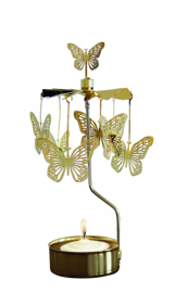 Pluto Roterend waxinelichtje vlinder