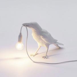 Seletti Bird Lamp waiting wit