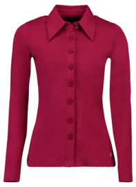 Tante Betsy Button Shirt Cerise