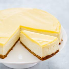 Wisselende cheesecake