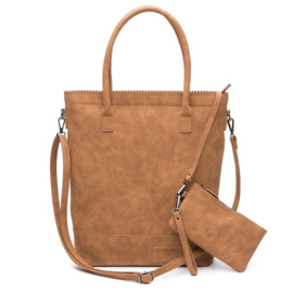 Zebra Natural bag Kartel Camel