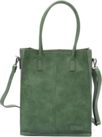Zebra Natural bag Rosa Green