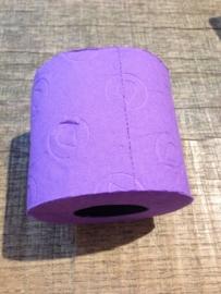 Gekleurd wc-papier paars