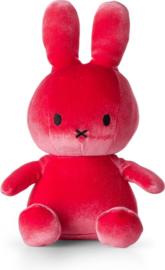 Nijntje Velvet Candy pink 23cm